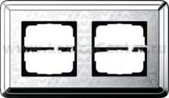 Gira ClassiX Art Хром/Хром Рамка 2-ая (G212681)