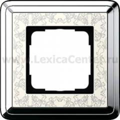 Gira ClassiX Art Хром/Кремовый Рамка 1-ая (G211683)