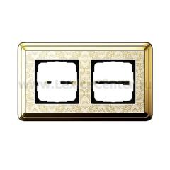 Gira ClassiX Art Латунь/Кремовый Рамка 2-ая (G212673)