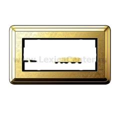 Gira ClassiX Art Латунь/Латунь Рамка 2-ая без перегородки (G1002671)