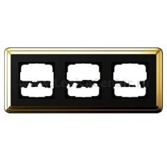 Gira ClassiX Бронза/Черный Рамка 3-ая (G213622)