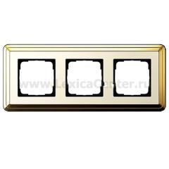Gira ClassiX Латунь/Кремовый Рамка 3-ая (G213633)