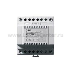 Gira Доп источник питания 24В DC для домофонных систем (G129600)