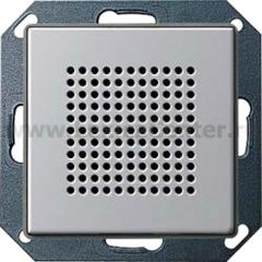 Gira E22 Алюминий Динамик дополнительный для радиоприемника скрытого монтажа с функцией RDS (G2282203)