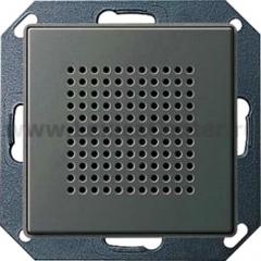 Gira E22 Сталь Дополнительный динамик для радиоприемника скрытого монтажа с функцией RDS (G228220)