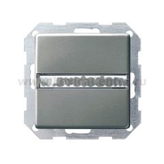 Gira E22 Сталь Выключатель карточный (G14020)