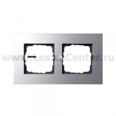 Gira ESP Алюминий Рамка 2-ая (G21217)