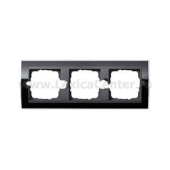 Gira EV CL Черный/антрацит Рамка 3-ая (G213738)
