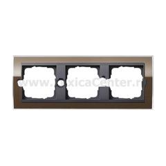 Gira EV CL Коричневый/антрацит Рамка 3-ая (G213768)