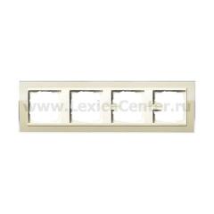 Gira EV CL Песочный/Крем глянц Рамка 4-ая (G214771)