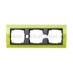 Gira EV CL Зеленый/антрацит Рамка 3-ая (G213748)