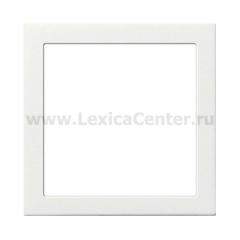 Gira F100 Бел глянц Промежуточная рамка с квадратным отверстием 55x55 мм (G289112)