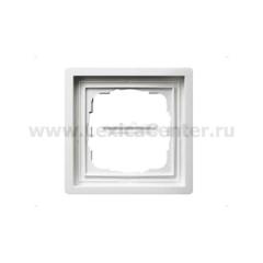Gira F100 Бел глянц Рамка 1-ая (G211112)