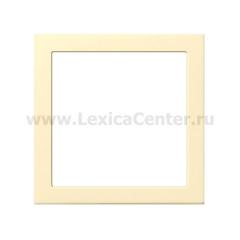 Gira F100 Крем глянц Промежуточная рамка с квадратным отверстием 55x55 мм (G289111)