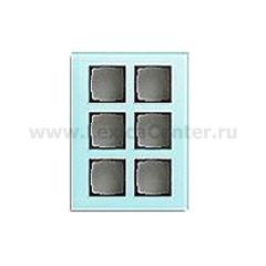 Gira FKB-SYS Стекло Накладка для модульной стойки 6-ая (G138618)