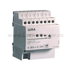 Gira FKB-SYS Светорегулятор универс. REG 400W на Din-рейку (G113500)