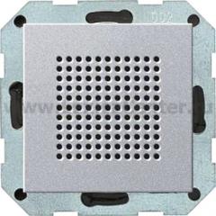 Gira S-55 Алюминий Дополнительный динамик для радиоприемника скрыт.монтажа в ф-цией RDS (G228226)