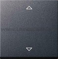Gira S-55 Антрацит Накладка системы управления жалюзи Standard (G232428)