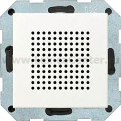 Gira S-55 Бел матовый Дополнительный динамик для радиоприемника скрыт.монт.с RDS (G228227)