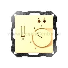 Gira S 55 Крем глянц Накладка регулятора теплого пола (G149401)