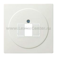 Gira S-Color Белый Накладка для телефонных TAE - и аудиорозеток (G27640)