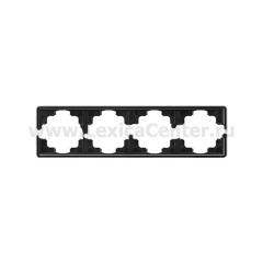 Gira S-Color Черный Рамка 4-ая (G21447)