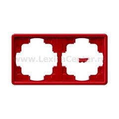 Gira S-Color Красный Рамка 2-ая (G21243)