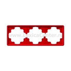 Gira S-Color Красный Рамка 3-ая (G21343)