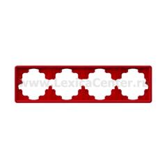 Gira S-Color Красный Рамка 4-ая (G21443)