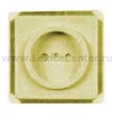 Гуси-Электрик С1Р2-005 Механизм розетки без БЗК, с ЗП, 16 А, 250 V, цвет матовое золото