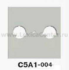 Гуси-Электрик С5А1-004 Накладка для ТВ розеток, цвет серебро