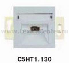 Гуси-Электрик С5НТ1.130-004 Механизм розетки телефонной RJ12, цвет серебро
