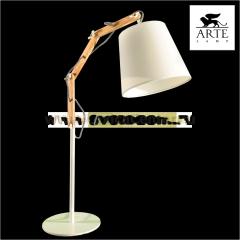 Интерьерная настольная лампа Arte lamp A5700LT-1WH Pinoccio