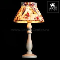 Интерьерная настольная лампа Arte lamp A7020LT-1WH Bambina