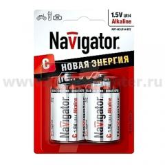 Элемент питания Navigator 94 754 NBT-NE-LR14-BP2