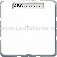 JUNG CD 500/CD plusБел Вывод кабеля с полем для надписи (CD590NAAWW)