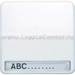 JUNG CD 500/CD plusПлатина Клавиша 1-я с/п с полем для надписи (CD590NAKO5PT)