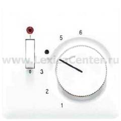 JUNG CD 500/CD plusПлатина Накладка термостатакомнатного с выкл.(механизм TR231U,TR241U) (CDTR231PLPT)