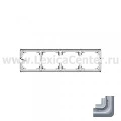 JUNG CD plus Светло-серый Рамка 4-я (CDP584LG)