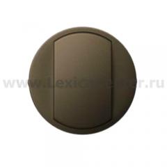 Клавиша для выключателя/переключателя 1 клавишного графит Celiane (Legrand) 64900