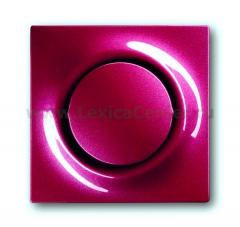 Клавиша для выключателя/переключателя 1 клавишного с подсветкой бордо Impuls (ABB) [BJE1786-777] 1753-0-0120