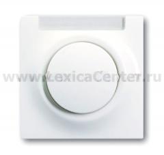 Клавиша для выключателя/переключателя 1 клавишного с полем для надписи альпийский белый Impuls (ABB) [BJE1781-74] 1753-0-4849
