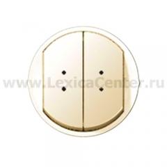 Клавиша для выключателя/переключателя 2 клавишного с индикацией слоновая кость Celiane (Legrand) 66211