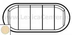 Клавиша для выключателя/переключателя 5 клавишного слоновая кость Celiane (Legrand) 66203