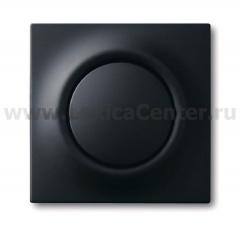 Клавиша дляМеханизма 1-клавишного выключателя/переключателя/кнопки, серия impuls чёрный бархат 1753-0-0153