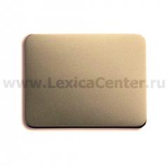Клавиша с красной линзой для контрольного выключателя палладий alpha exclusive (ABB) [BJE1789-260] 1751-0-2825