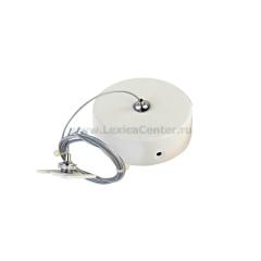 Комплект подвесной для магнитного шинопровода Donolux Suspension kit DLM/White