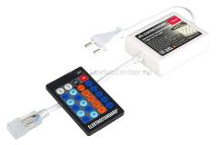 Контроллер для одноцветных светодиодных лент с ПДУ LSC 002 220V Электростандарт