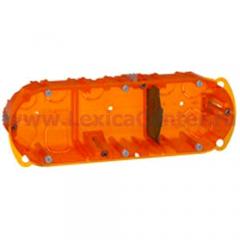 Коробка Batibox 6-8 модулей универсальная глубина 40мм (Legrand) 80103
