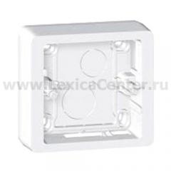 Коробка накладного монтажа 1 пост белый Celiane (Legrand) 80241